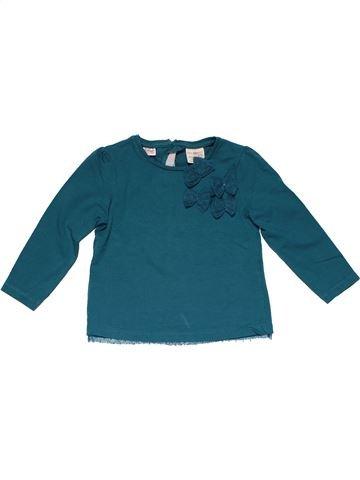 Long sleeve T-shirt girl ZARA green 3 years winter #22293_1