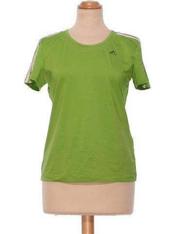 Short Sleeve Top woman ADIDAS UK 14 (L) summer #22420_1