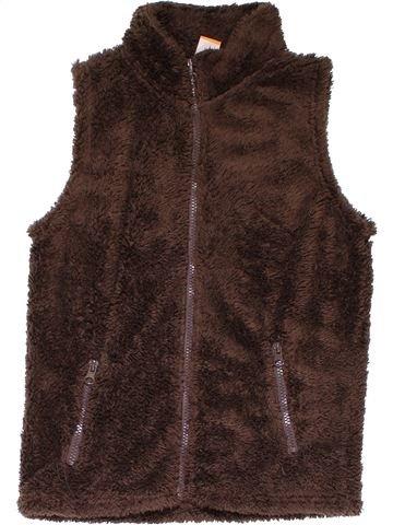 Vest girl PUSBLU brown 8 years winter #22579_1