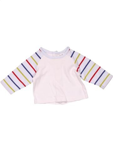 Long sleeve T-shirt boy MAMAS & PAPAS white new born winter #22595_1