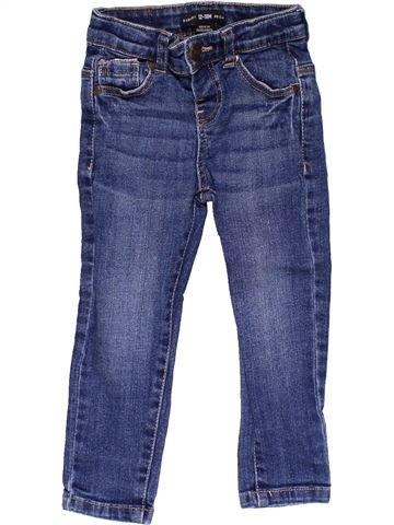 Jeans boy BABY BOY blue 18 months summer #22616_1