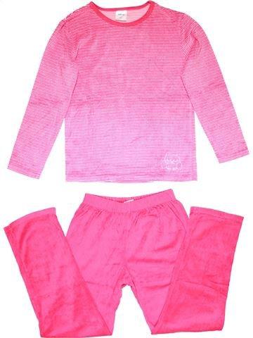 2 pieces Pyjama girl ALIVE pink 12 years winter #22932_1