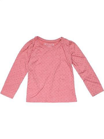 Long sleeve T-shirt girl PRIMARK pink 3 years winter #22966_1
