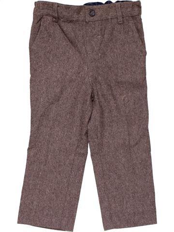 Trouser boy MONSOON brown 3 years winter #23406_1