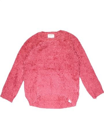 Jumper girl ZARA pink 10 years winter #23475_1