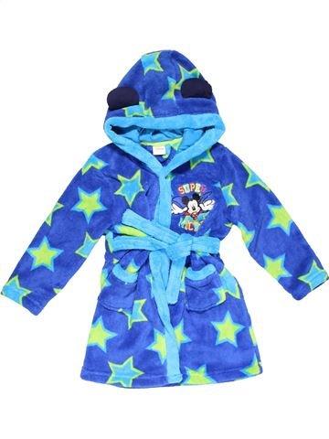 Dressing gown boy DISNEY blue 4 years winter #23566_1