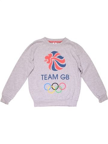Sweatshirt boy TEAM GB white 12 years winter #23621_1