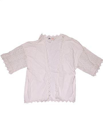 Sweatshirt girl H&M white 8 years summer #23929_1
