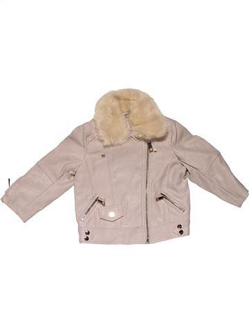 Jacket girl RIVER ISLAND gray 12 months winter #24089_1