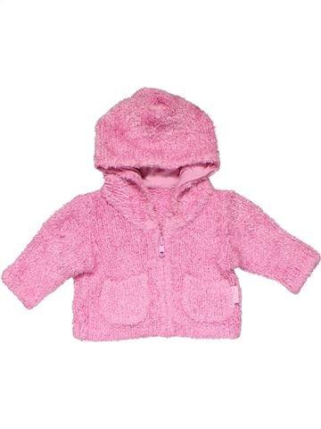 Sweatshirt girl MARKS & SPENCER pink new born winter #24133_1