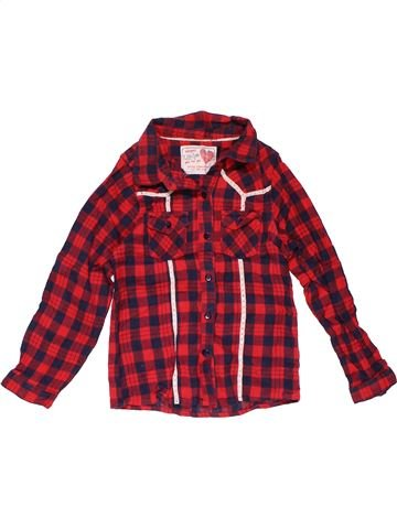 Long sleeve shirt girl YOUNG DIMENSION purple 7 years winter #24669_1