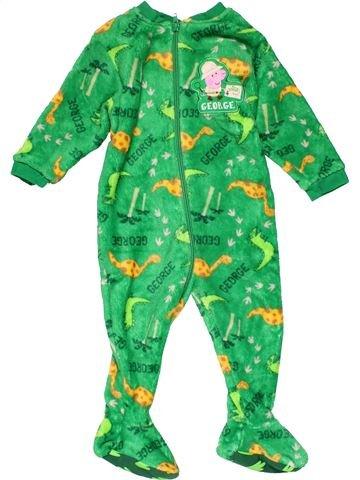 Long jumpsuit boy MINI CLUB green 18 months winter #24957_1