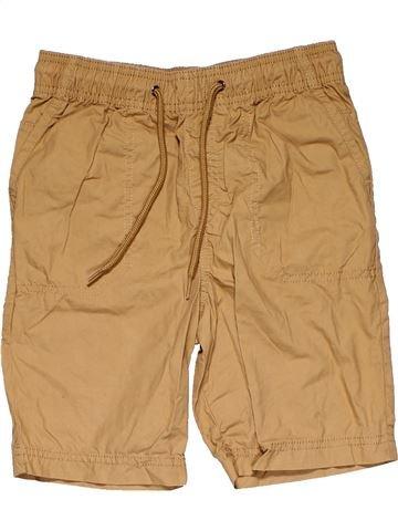 Trouser boy MARKS & SPENCER brown 8 years summer #24972_1