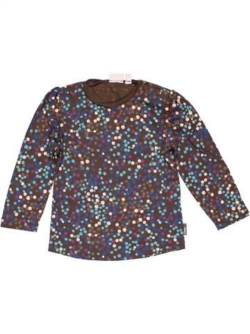 Long sleeve T-shirt girl MEXX brown 2 years winter #25340_1