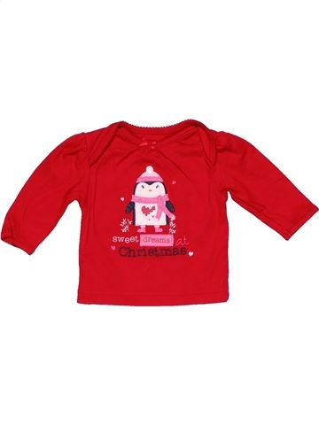 Long sleeve polo shirt girl GEORGE red 1 month winter #25365_1
