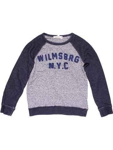 Sweatshirt boy H&M gray 10 years winter #25368_1