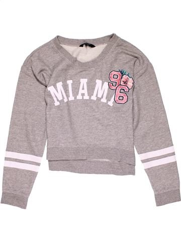 Sweatshirt girl NEW LOOK pink 13 years winter #25387_1