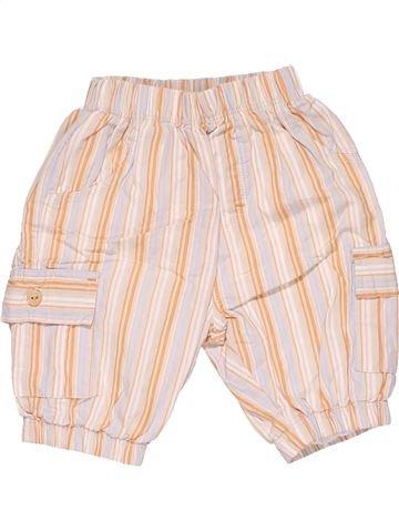 Trouser boy BABY CLUB beige 1 month summer #25486_1