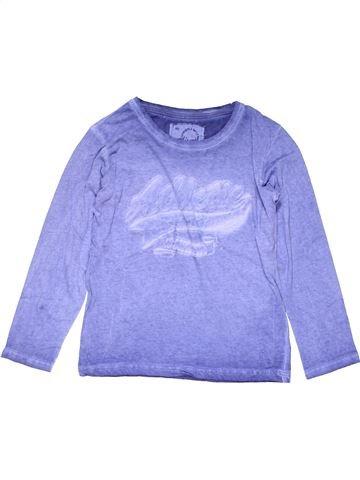 Long sleeve T-shirt boy ALIVE purple 10 years winter #25529_1