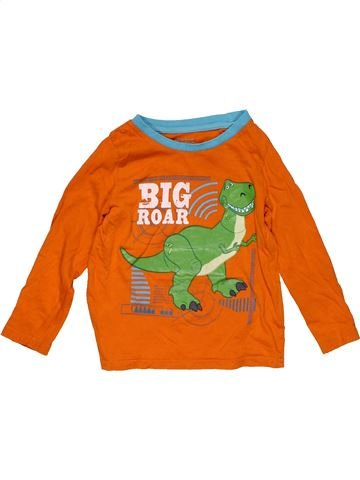 Long sleeve T-shirt boy PRIMARK orange 3 years winter #25682_1