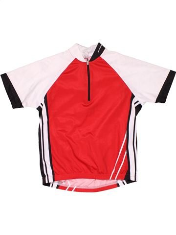 Sports jersey boy BTWIN white 8 years summer #25690_1