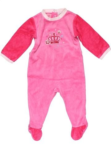 Long jumpsuit girl ABSORBA pink 12 months winter #26216_1