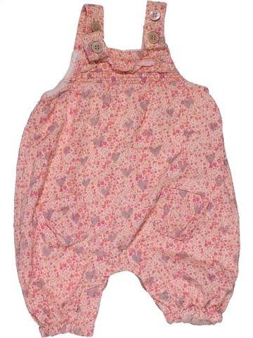 Dungaree girl NEXT pink 1 month winter #26347_1