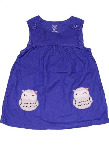 Dress girl JUST ONE YOU purple 12 months summer #26350_1