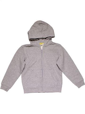 Sweatshirt boy H&M gray 8 years winter #26364_1