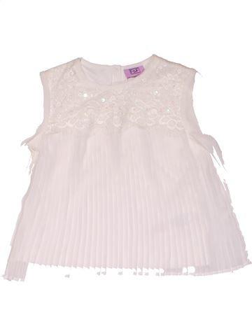 Long sleeve blouse girl F&F white 12 months summer #26486_1