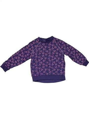 Long sleeve blouse girl MINI CLUB purple 2 years winter #26493_1