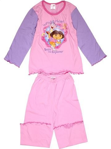 2 pieces Pyjama girl DORA pink 6 years winter #26561_1