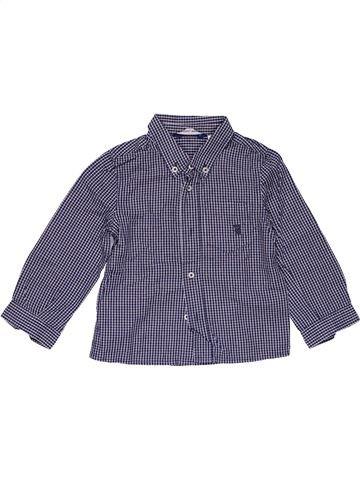 Long sleeve shirt boy ORIGINAL MARINES purple 18 months summer #26586_1