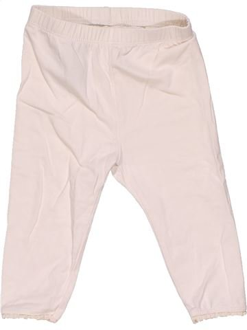 Leggings girl BABY GAP white 12 months summer #26606_1