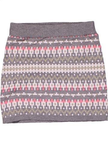 Skirt girl H&M gray 8 years winter #26613_1
