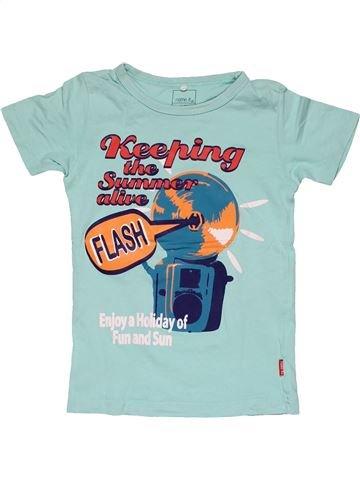 Short sleeve T-shirt boy NAME IT blue 6 years summer #26673_1