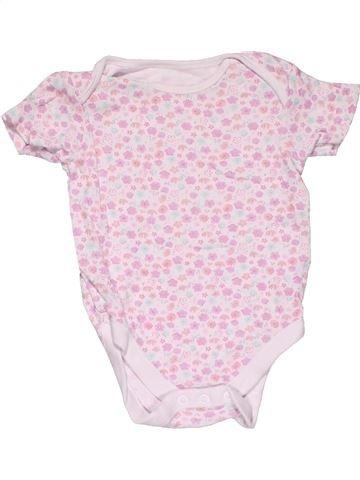 Short jumpsuit girl DISNEY BABY pink 9 months summer #26895_1