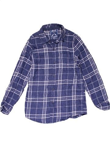 Long sleeve shirt boy REBEL blue 11 years winter #26965_1