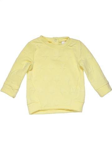 Sweatshirt girl NUTMEG beige 18 months winter #26980_1