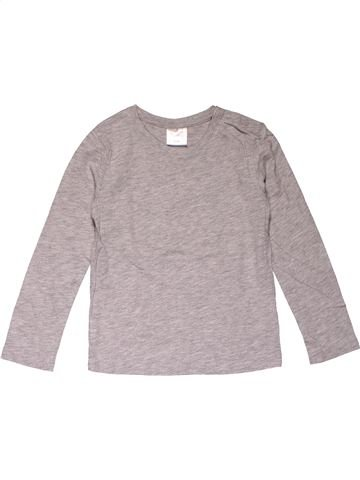 Long sleeve T-shirt girl IMPIDIMPI gray 4 years winter #26984_1