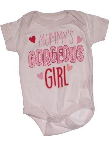 Short jumpsuit girl PEP&CO pink new born summer #27166_1
