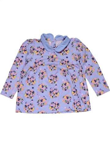 Long sleeve blouse girl TU gray 12 months winter #27219_1
