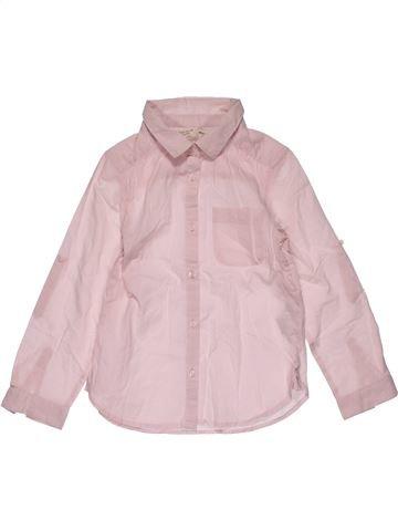 Long sleeve blouse girl ZARA pink 6 years winter #27465_1