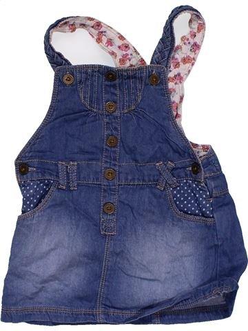 Dress girl MATALAN blue 18 months summer #27477_1