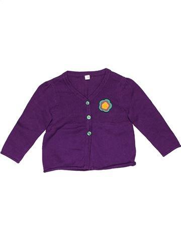 Jumper girl NO BRAND purple 12 months winter #27551_1