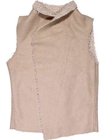 Vest girl F&F beige 10 years winter #27598_1