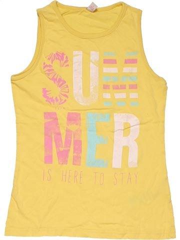 Sleeveless T-shirt girl SPRIT yellow 11 years summer #27609_1