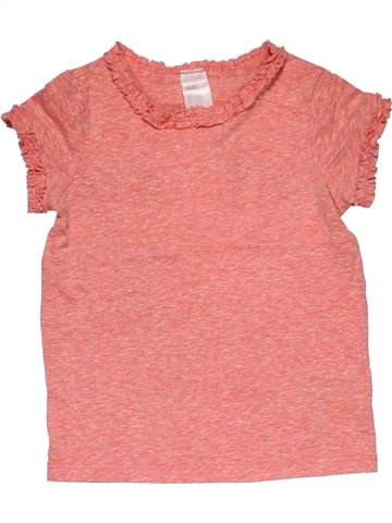 Short sleeve T-shirt girl H&M pink 2 years summer #27793_1
