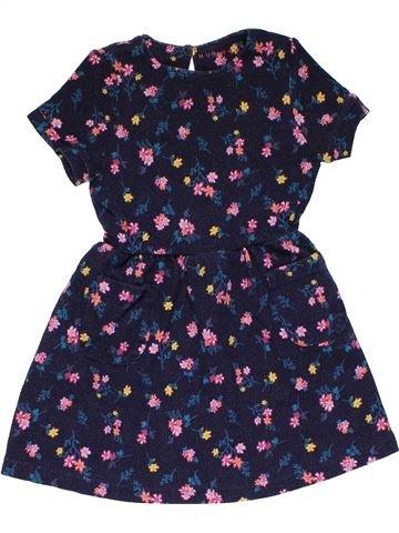 Dress girl NUTMEG blue 5 years summer #27836_1