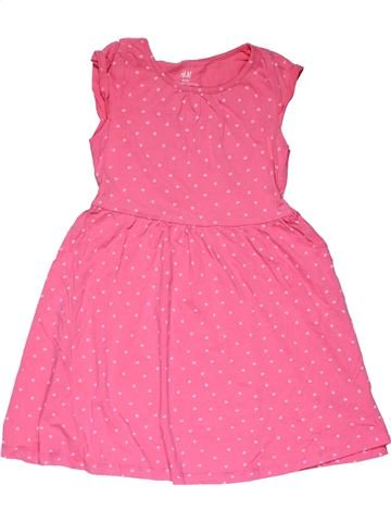 Dress girl H&M pink 6 years summer #27869_1
